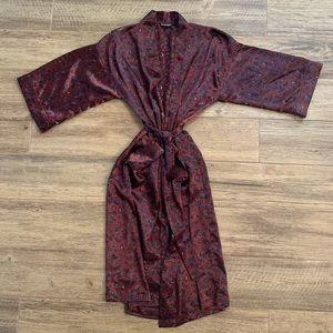 Christian Dior Silk Robe One Size All Monsieur